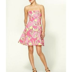 Lilly Pulitzer Blossom Hotty Pink Day Lilly Mini D